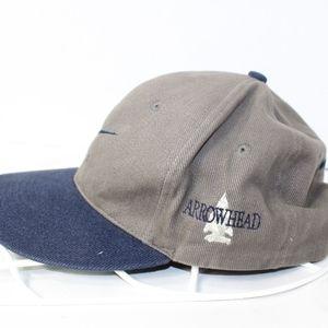 Nike Accessories - Vintage 90s NIKE Golf Strap Back Dad Hat Gray Blue 95f8aa2f123f